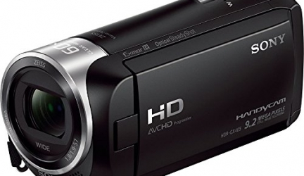 CX405 Exmor R® CMOS sensörlü Handycam